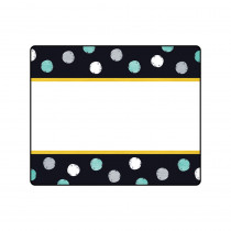T-68125 - I Heart Metal Dots Terrific Labels in Name Tags