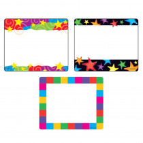 T-68905 - Colorful Creations Label Variety Pk 108 Ct in Name Tags