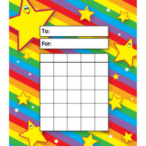 T-73014 - Incentive Pad Stars in Postcards & Pads