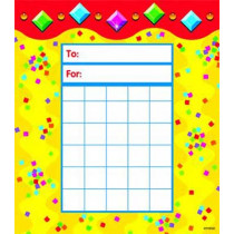T-73048 - Jazzy Gems Incentive Pads in Postcards & Pads