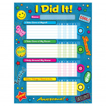 T-73113 - Praise Word Patches Success Charts 25Ct in Inspirational