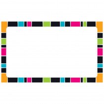 T-75004 - Stripe-Tacular Terrific Index Cards Groovy Blank in Index Cards