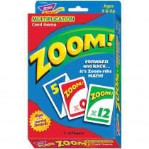 T-76304 - Zoom Multiplication Card Game in Card Games