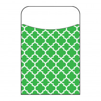 Moroccan Green Terrific Pockets, 250 ct - T-77018BP | Trend Enterprises Inc. | Organizer Pockets