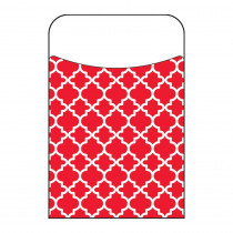 Moroccan Red Terrific Pockets, 250 ct - T-77019BP | Trend Enterprises Inc. | Organizer Pockets