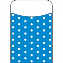 T-77044 - Polka Dots Blue Terrific Pockets in Organizer Pockets