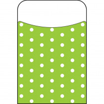 T-77045 - Polka Dots Lime Terrific Pockets in Organizer Pockets