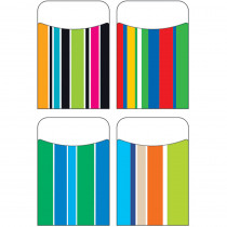 T-77910 - Stripe-Tacular Terrific Pockets Variety Pack in Organizer Pockets