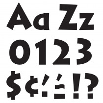 T-79290 - Ready Letters Black 4 Venture Uppercase & Lowercase Combo in Letters