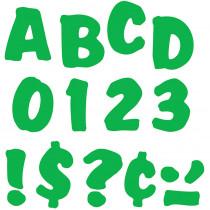 T-79305 - Ready Letters 4 Splash Green Uppercase in Letters