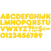 T-79403 - Ready Letters 2Inch 3-D Yellow in Letters