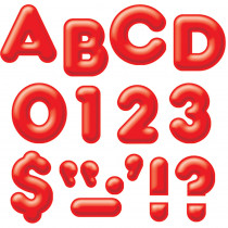 T-79502 - Ready Letters 4Inch 3-D Red in Letters
