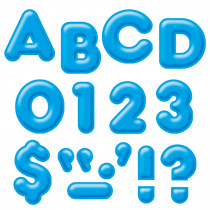 T-79504 - Ready Letters 4Inch 3-D Blue in Letters