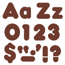 T-79904 - Chocolate 4In Casual Combo Ready Letters in Letters