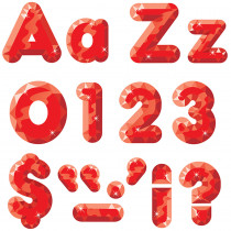 T-79941 - Red Gems Ready Letters 4In Upper Lowercase Combo in Letters