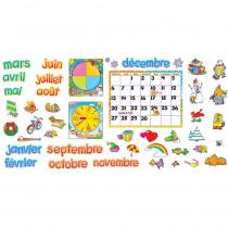 T-8045 - Calendrier Mensuel Bulletin Board Set in Bulletin Board Sets