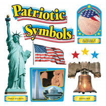 T-8066 - Bulletin Board Set Patriotic Symbols in Social Studies