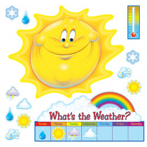 T-8084 - Bulletin Board Set Whats The Weather in Science