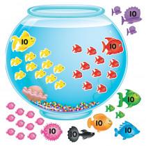 T-8086 - Bulletin Board Set 100-Day Fishbowl in Classroom Theme