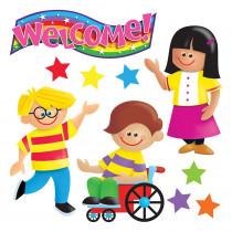 T-8135 - Bulletin Board Set Kids Are Great in Motivational