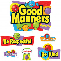 T-8152 - Bulletin Board Set Good Manners in Social Studies