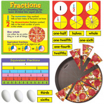 T-8156 - Bb Set Fraction Action 2 Press Shts in Math