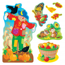 T-8174 - Bulletin Board Set Fall Things in Holiday/seasonal
