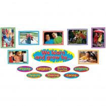 T-8210 - Learn & Grow Character Bulletin Board Set in Social Studies