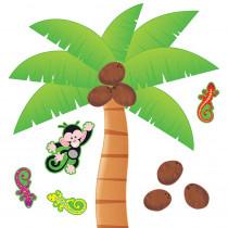 T-8220 - Bulletin Board Set Palm Tree in Classroom Theme