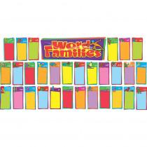 T-8254 - Word Families Bulletin Board Set in Language Arts