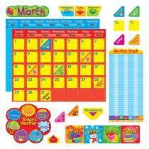 T-8276 - Classic Calendar Duo Bulletin Board Set in Calendars