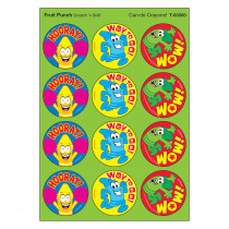 T-83300 - Crayons/Fruit Punch Stinky Stickers in Stickers