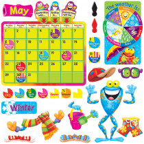 T-8331 - Frog-Tastic Calendar Bulletin Board Set in Calendars