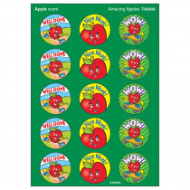 T-83409 - Stinky Stickers Amazing Apples 60Pk Acid-Free Apple in Stickers