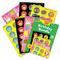 T-83918 - Birthday Stinky Stickers Variety Pk 252 Ct Bundle in Stickers