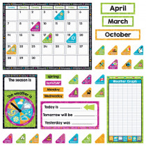 T-8430 - Color Harmony Calendar Bb St in Classroom Theme
