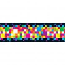 T-85342 - Pixels Bolder Borders in Border/trimmer
