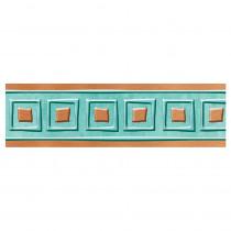 T-85601 - Copper Squares Bolder Borders I Heart Metal in Border/trimmer