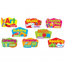 T-8702 - Primary Center Signs Mini Bulletin Board Set in Miscellaneous