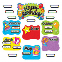 T-8709 - Birthday Festival Mini Bulletin Board Set in Miscellaneous