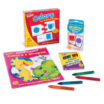 T-90881D - Colors & Shapes Learning Fun Pack in Hands-on Activities