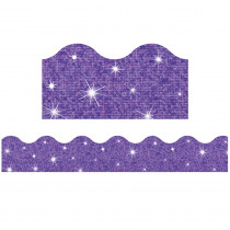 T-91414 - Trimmer Purple Sparkle in Border/trimmer