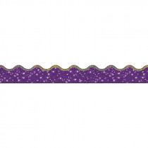 T-92506 - Trimmer Super Sparkle Purple in Border/trimmer