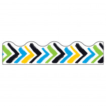 T-92645 - Bold Stroke Chevron Terrific Trim in Border/trimmer