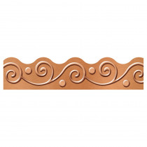 T-92680 - Copper Scrolls Terrific Trimmers I Heart Metal in Border/trimmer