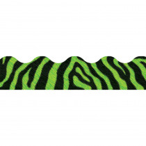T-92853 - Zebra Green Terrific Trimmers in Border/trimmer