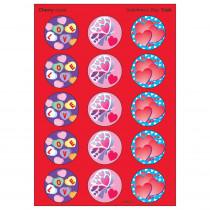 T-928 - Stinky Stickers Valentines Day 60Pk Cherry Acid-Free in Holiday/seasonal