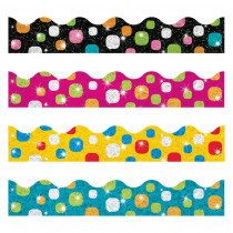 T-92931 - Super Dots Sparkle Plus Border Variety Pack in Border/trimmer