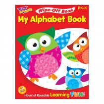 T-94117 - My Alphabet Book 28Pg Wipe-Off Books in Language Arts