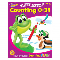 T-94215 - Counting 0-31 28Pg Wipe-Off Books in Language Arts